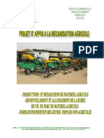 PME APPUI MECANISATION  AGRICOLE