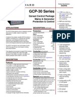 MB GCP-30 Series Genset Control