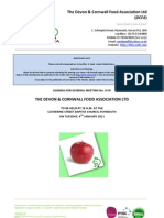 DCFA-110104 Agenda