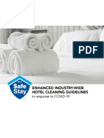 Enhanced Industry-Wide Hotel Cleaning Guidelines