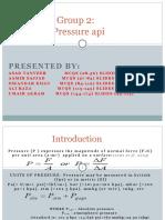 Chemical Engineering Pressure API