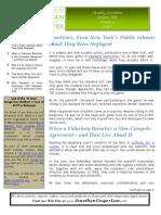 January '11 Newsletter