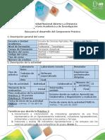 Guía Para El Desarrollo Del Componente Práctico - Paso 6 - Salidas de Campo