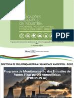 Apresentacao Obrigacoes Ambientais Promon Ar 2016