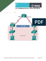 PRACTICA10 Configuración de un tunel GRE PUNTO A PUNTO