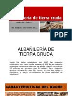 ALBAÑILERÍA DE TIERRA CRUDA