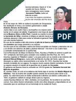 biografia Juana Azurduy