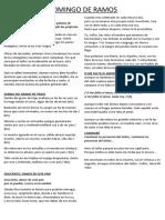 CANCIONERO DOMINGO DE RAMOS (LETRAS)
