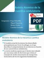 Modelo Atomico de La Mecanica Cuantica Ondulatoria