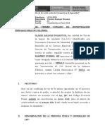 CONSTITUCIÓN DE ACTOR CIVIL GLADIS