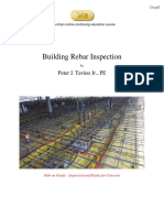 Building Rebar Inspection