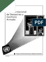 Ley de desastres y conflictos