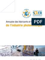SER Annuaire Industrie PV 2010