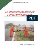 3 - LA RECONNAISSANCE ET 'ECHANTILLONNAGE