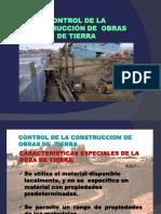 Terraplenes, Control de Construccion en Obras de Tierra