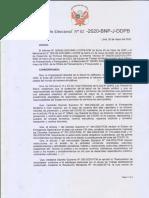 Criterios orientadores para el progresivo reinicio de los servicios bibliotecarios (PERÚ)