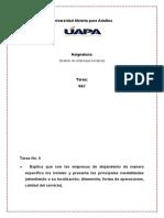 Tarea 6y7 de Gestion DE EMPRESAS TURISTICAS