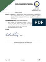 Supervisor V. Manuel Perez proposal on review of Sheriff's Department procedures