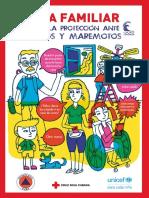 Guía Familiar para sismos y maremotos (Cruz Roja Cubana y UNICEF)