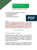 CUESTIONARIO DERECHO LABORAL.doc