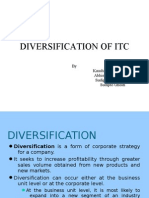 ITC Diversification
