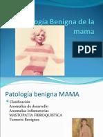 Patología Benigna de la mama