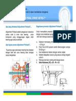 Adjust preload Differential HD785-7 (TAR DT3648)