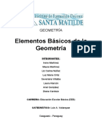 Elementos Básicos De La Geometría
