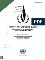 1985_16_Rev.1-EN Estudo sobre leis de anistia_Comissão DH ONU