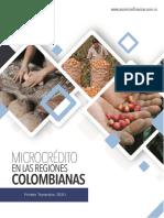 MICROCRÉDITO EN LAS REGIONES COLOMBIANAS PRIMER TRIMESTRE 2020