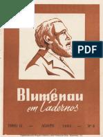 Blumenau em Cadernos - BLU1961008_ago