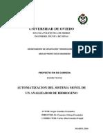 Proyecto Analizador de Hidrogeno