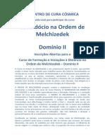 INFORMATIVO - MELCHIZEDEK II