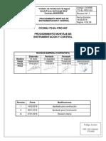 CC3596-170-EL-PRO-007 rev1 mont instrumentacion y control