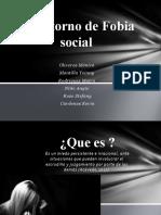 Trastorno de  fobia social y panico