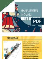 Manajemen Inovasi 06 - Just in Time