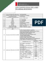 PROYECTO EDUCATIVO INSTITUCIONAL DE LA RED EDUCATIVA RURAL HUICUNGO1-2020