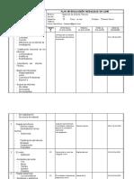 Plan Evaluación Redacción de Informes Técnicos