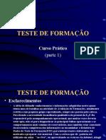 TESTE DE FORMAÇÃO