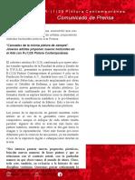 Boletín de prensa Exposición Fundación Sebastián R-126