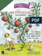Me preocupo demasiado, un libro para niños con ansiedad - Daw Huebner.pdf