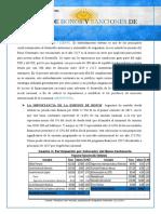 AHSLY SONCCO MERMA EMISION DE BONOS Y SANCIONES  DE ARGENTINA