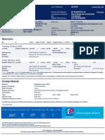 E-ticket for DELGADILLO JOSE,  03MAR2020 LPB-SRZ QIORJP