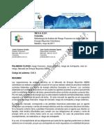 Metodología de Análisis del Riesgo Financiero en el MEM