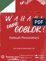 eBook - Wahabi Goblok