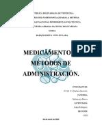 MEDICAMENTOS Y METODOS DE ADMINISTRACION-Barbara Quevedo-1D03.