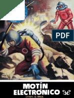 [Bolsilibros] [Espacio - El Mundo Futuro 12] Milk, Louis G. - Motin electronico [45383] (r1.0)