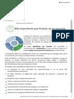 M5S_ Definiciones y usos_ 3'S - SEISO – Limpieza
