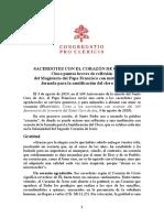 SACERDOTES CON EL CORAZÓN DE CRISTO-CONGREGACIÓN PARA EL CLERO