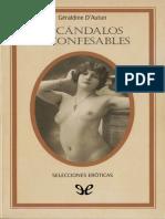 [Selecciones eroticas Sileno 00] Autun, Geraldine D - Escandalos inconfesables [45594] (r1.0)